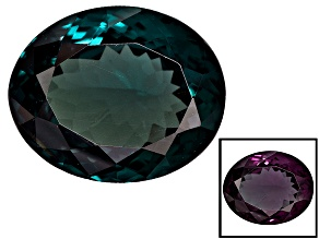 Blue Garnet Color Change 10.38x8.57mm Oval 4.06ct