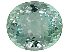 Paraiba Tourmaline 23.52x20.62mm Oval Portuguese Cut 39.08ct