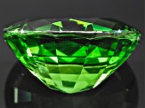 Chrome Tourmaline 11.24x9.22x6.07mm Oval Mixed Step 3.93ct