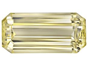 Triphane Yellow Spodumene 34.08x16.46x12.66mm Emerald Cut 66.74ct