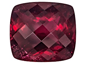 Tourmaline Rubellite Untreated 15.13x13.82mm Rectangular Cushion Checkerboard Cut 13.00ct