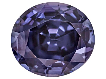 Picture of Blue Spinel 11.35x10.2mm Oval Mixed Step Cut 5.73ct