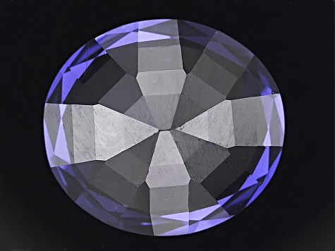 Blue Spinel 11.35x10.2mm Oval Mixed Step Cut 5.73ct