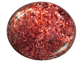 Sunstone 24.48x20.73mm Oval Cabochon 45.22ct