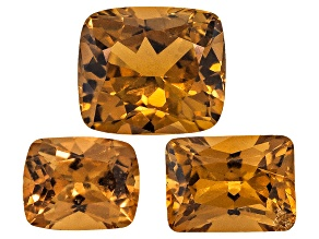 Yellow Sapphire Untreated Mixed Shape Set 2.18ctw