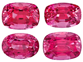 Pink Spinel Mixed Shape Set  2.82ctw