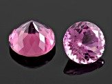Set Of 8 Untreated Nigerian Pink Tourmaline 5.91ctw mm Varies Mixed Shape