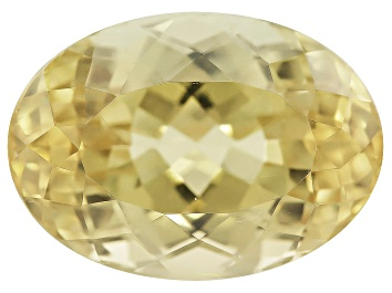 Picture of Afghan Untreated Greenish Yellow Tourmaline 11.04ct 15.67x11.25mm Oval W/ Gemworld Verification Rpt