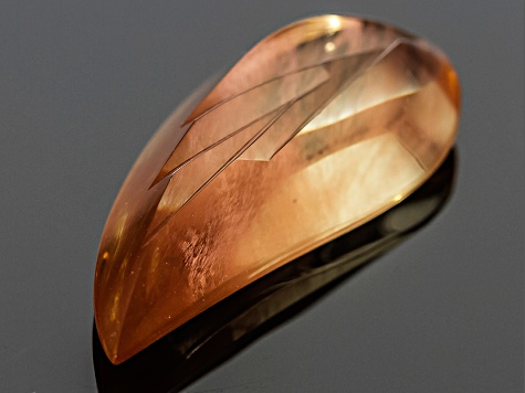 Sunstone 37.50x16.30mm Custom Cut 31.53ct