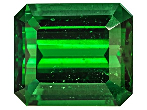 Tsavorite Garnet 9.08x7.85mm Emerald Cut 3.22ct
