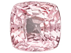 Padparadscha Sapphire 7.01x6.91mm Square Cushion Mixed Step Cut 2.28ct