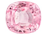 Pink Padparadscha Sapphire Untreated 9.64x8.86mm Rectangular Cushion Mixed Step Cut 3.89ct