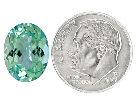 Paraiba Tourmaline 12.12x9.28mm 4.33ct