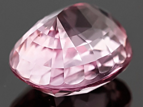 Pink Padparadscha Sapphire 9.89x7.66mm Oval Mixed Step Cut 4.09ct