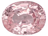 Peach Padparadscha Sapphire 9.01x6.89x4.51mm Oval Mixed Step Cut 2.40ct