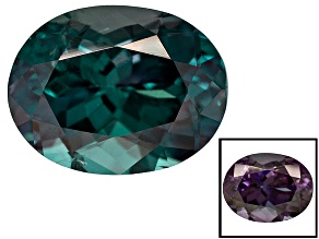 Alexandrite Color Change 7.65x5.88x4.56mm Oval 1.52ct