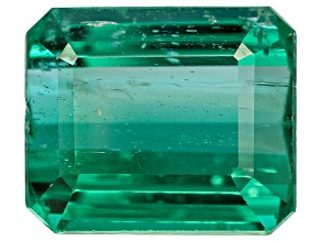 Emerald Untreated 9.8x8.22mm Emerald Cut 4.03ct