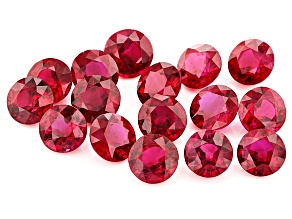 Ruby 5mm Round Set 10.21ctw