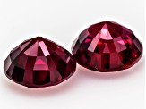 Ruby 6mm Round Matched Pair 2.13ctw