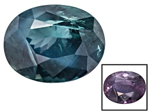 Alexandrite Color Change 8.27x6.57mm Oval 2.10ct