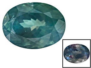 Alexandrite Color Change 9.37x6.97x5.13mm Oval Brilliant Cut 2.58ct