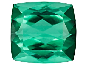 Green Tourmaline 11.18x10.51mm Rectangular Cushion 6.89ct