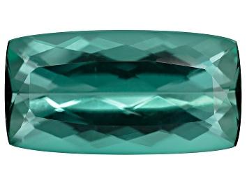 Picture of Green Tourmaline 16.76x8.83mm Rectangular Cushion 6.92ct