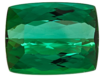 Picture of Green Tourmaline 16.63x12.97mm Rectangular Cushion 14.95ct