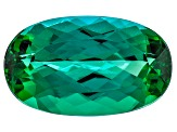 Green Tourmaline 16.49x9.83mm Oval 7.69ct