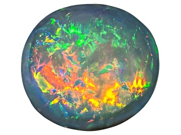 Picture of Black Opal 8.5x7.5mm Oval Cabochon 1.99ct