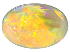 Black Opal 11.67x8.09mm Oval Cabochon 2.50ct