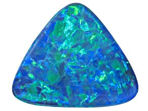 Black Opal 12.26x10.17mm Triangle Cabochon 2.60ct