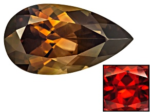 Zircon Thermochromic 14.27x7.87mm Pear Shape 5.70ct