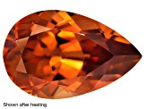 Zircon Thermochromic 12x7.5mm Pear Shape 3.62ct