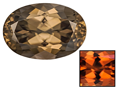Zircon Thermochromic 10x6.5mm Oval 2.99ct