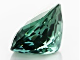 Mozambique Bluish Green Tourmaline 8.81ct 15.09x11.46mm Oval With Gemworld Verification Report