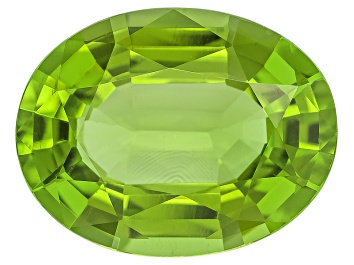 Picture of Peridot 15.97x12.37mm Oval Mixed Step Cut 9.90ct