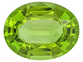Peridot 15.97x12.37mm Oval Mixed Step Cut 9.90ct
