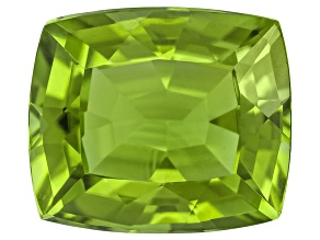 Peridot 11.75x10.14mm Rectangular Cushion Mixed Step Cut 6.05ct