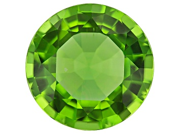 Picture of Peridot 14.5mm Round Mixed Step Cut 10.68ct