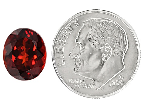 Garnet Spessartite 10.5x8.5mm Oval 5.24ct