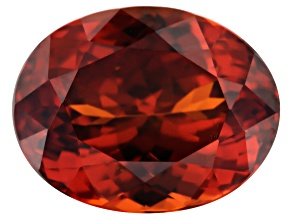 Garnet Spessartite 12x9mm Oval 7.04ct