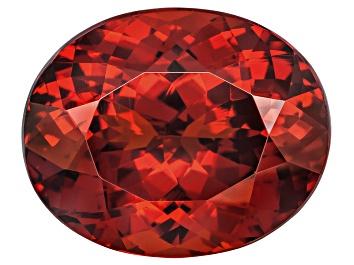 Picture of Garnet Spessartite 13.5x11mm Oval 10.84ct