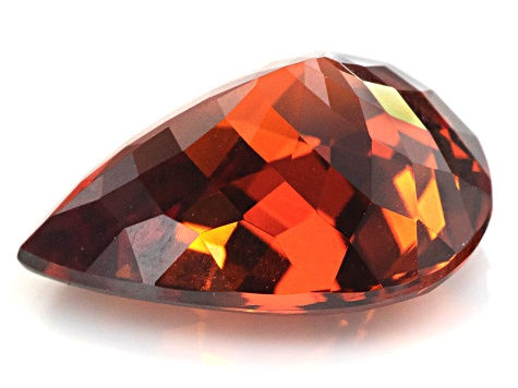 Garnet Spessartite 13x10mm Pear Shape 6.07ct