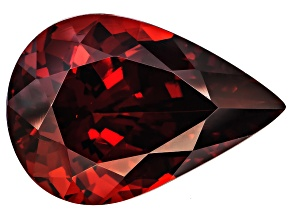 Garnet Spessartite 17.5x12mm Pear Shape 13.26ct