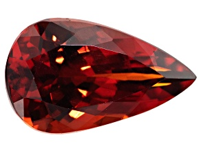 Garnet Spessartite 14.5x8.5mm Pear Shape 5.89ct