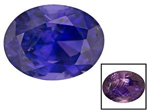 Sri Lankan Color Shift Sapphire 3.74ct