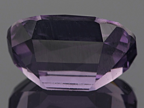 Sri Lankan Strong Violet Spinel 3.63ct 10.17x7.28mm Rectangular Cushion With Gemworld Report