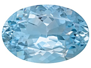 Aquamarine 20.35x13.76x8.63mm Oval 13.08ct