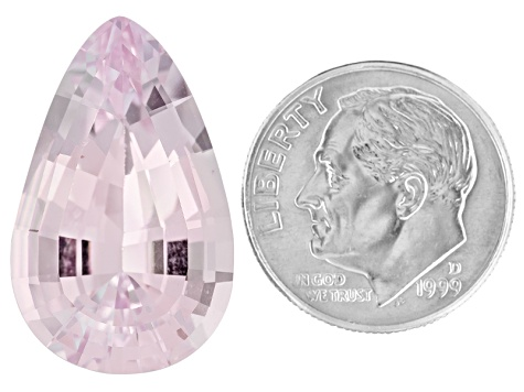 Morganite Untreated 23.35x14.4mm Pear Shape Mixed Step Cut 18.28ct